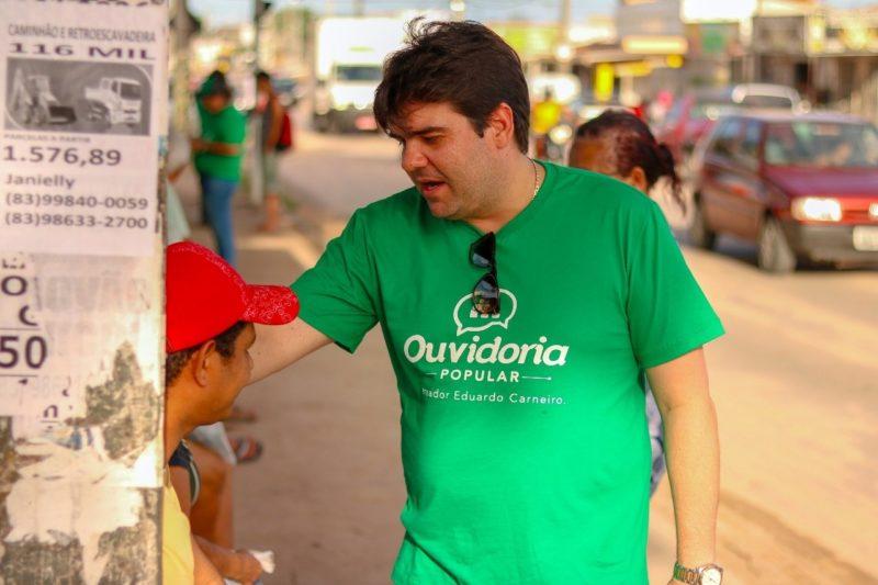 Só este ano, vereador Eduardo Carneiro já encaminhou 700 proposituras em JP