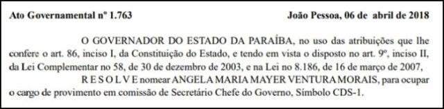 Ricardo anuncia substituto de João Azevêdo na Secretaria de Infraestrutura do Estado
