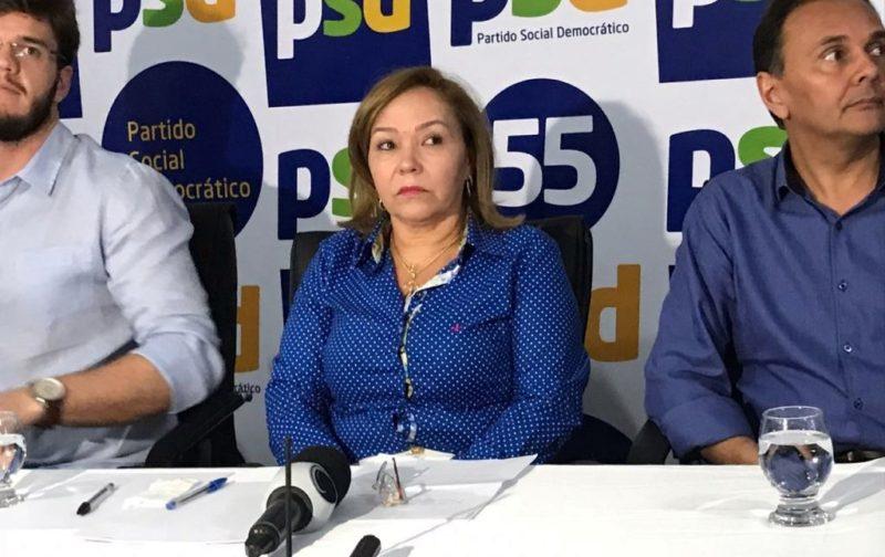 Viúva de Rômulo assume comando do PSD na Paraíba e anuncia disputa à Câmara Federal