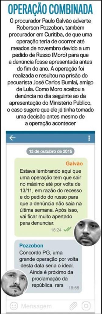 Novos diálogos revelam que Moro orientava ilegalmente ações da Lava Jato