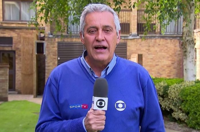 Grupo Globo confirma o afastamento do repórter esportivo Mauro Naves
