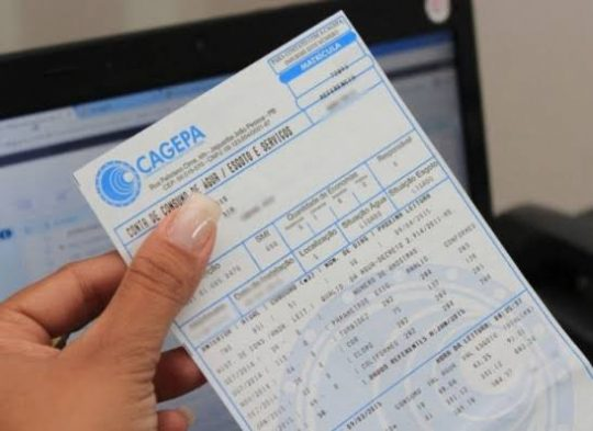 Mais de 25 mil famílias não pagarão conta d' água à Cagepa até o mês de junho