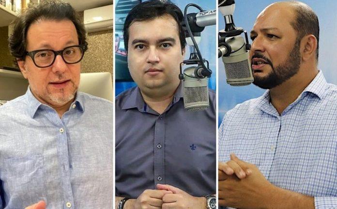 Ruy Dantas, Paulo Neto e Fábio Bernardo estreiam novo programa na 89 Rádio Pop