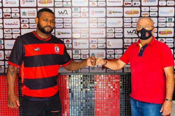 Série D: Campinense anuncia contratação de ex-atacante do Botafogo-RJ