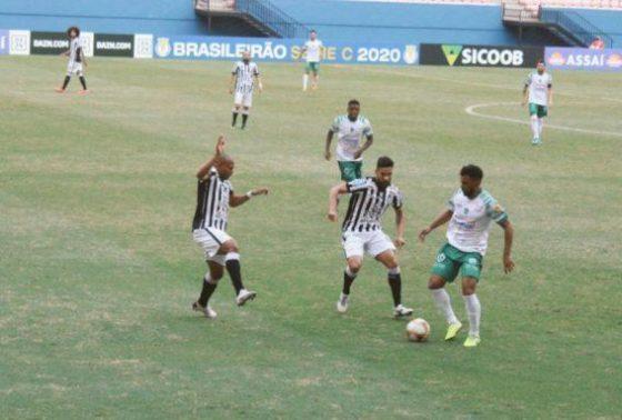 Treze sofre gol nos acréscimos e se mantém em penúltimo lugar na Série C