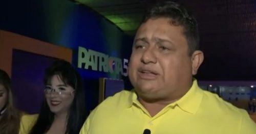 Patriota homologa candidaturas de Wallber Virgolino e Leila Fonseca em JP