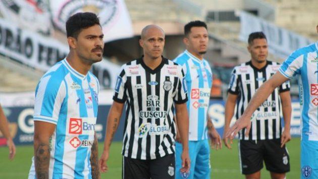 Treze perde para o Paysandu em casa e cai na classificação da Série C