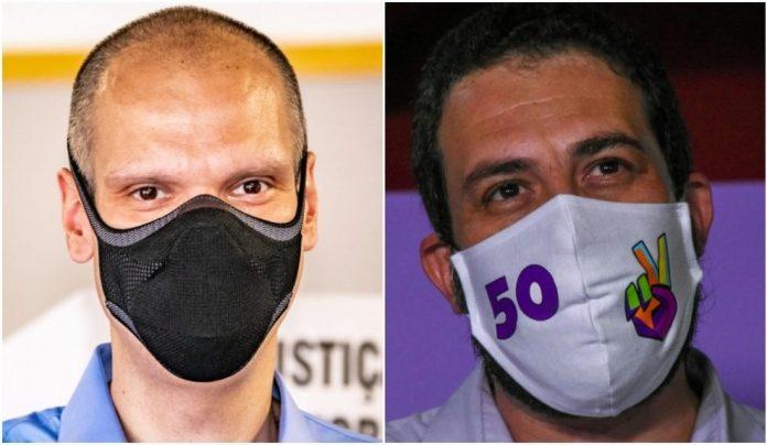Pesquisa Datafolha em São Paulo: Bruno Covas tem 48% e Boulos, 35%