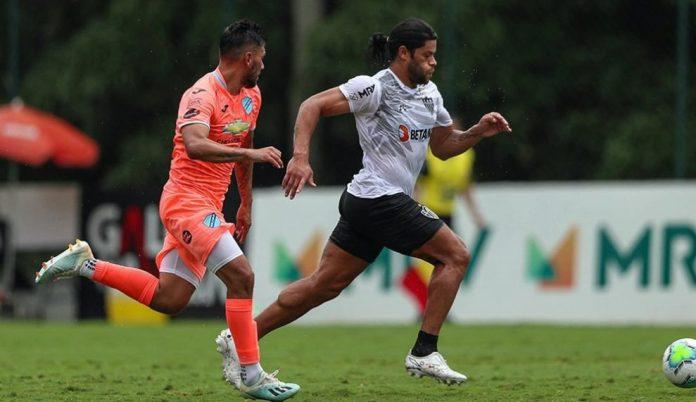 Na estreia do paraibano Hulk, Atlético-MG vence Bolívar em jogo-treino