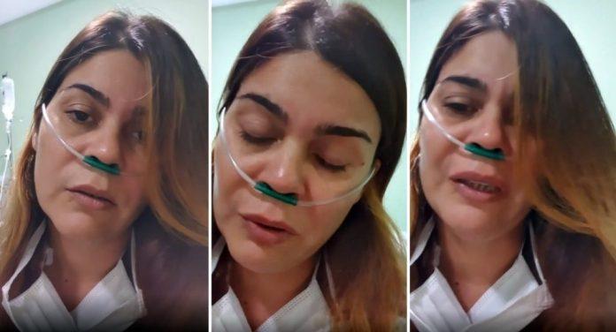 Vídeo: Internada com Covid, cantora paraibana faz relato emocionante na web