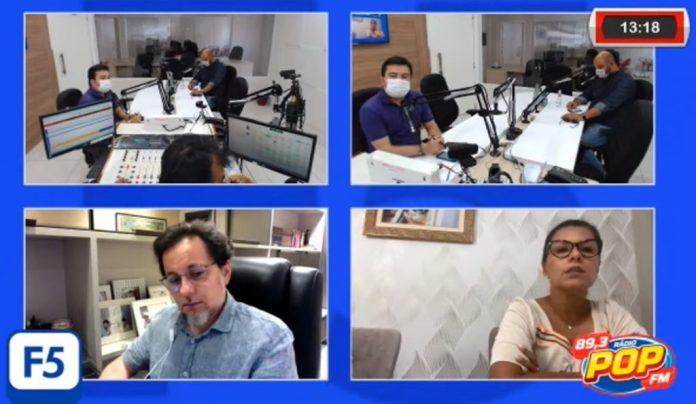 Covid: Programa F5 reduz equipe no estúdio e suspende entrevistas presenciais