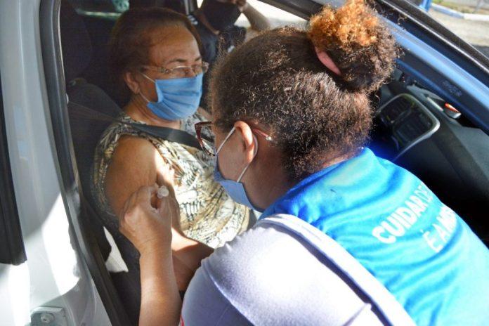 PMJP mantém nesta quarta-feira vacinação em idosos com 64 anos ou mais