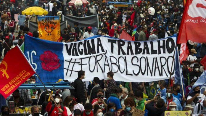 Movimentos sociais anunciam data de mais um protesto contra Bolsonaro