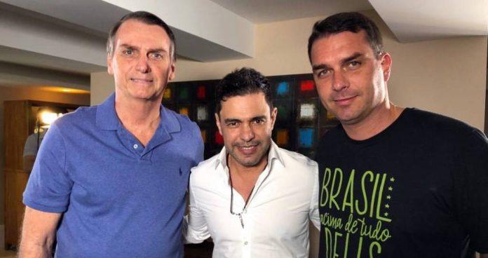 Zezé Di Camargo grava vídeo convocando bolsonartistas para ato público