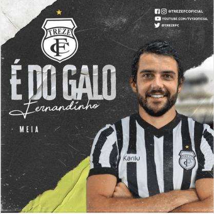 Paraíba Online • Treze demite Marcelinho Paraíba e anuncia contratação de meia