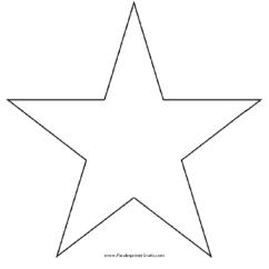 Easy Tree Diagram Worksheet Of Organs And Ribs Molde De Estrella - Para Imprimir Gratis Paraimprimirgratis.com