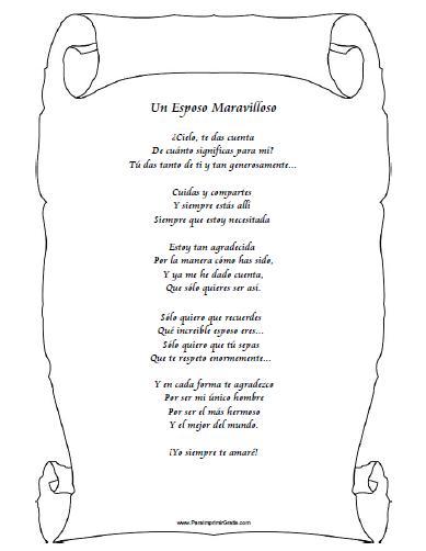 Poemas Para Un Esposo