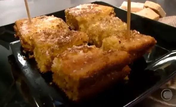 bolo-de-milho-com-cobertura-de-pacoca-de-amendoim