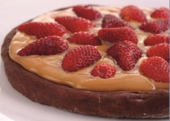 RECEITA DE PIZZA DE CHOCOLATE