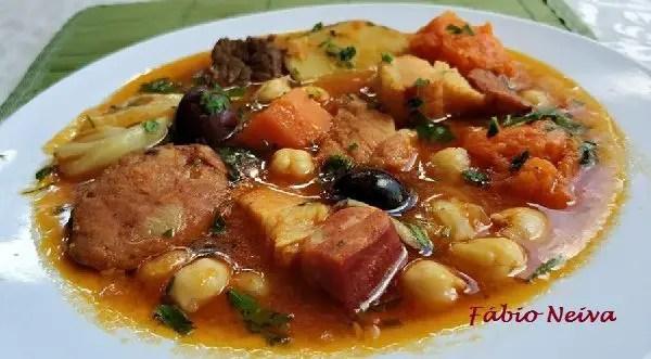 Tem Na Web - Receita de Puchero - Delicioso prato típico português e espanhol!
