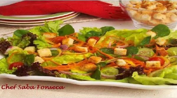 Tem Na Web - Salada completa - Deliciosa e nutritiva opção para a sua salada!