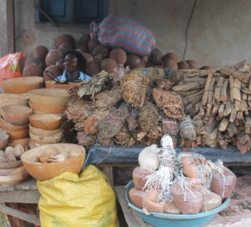 vendeuse de remèdes médecine traditionnelle
