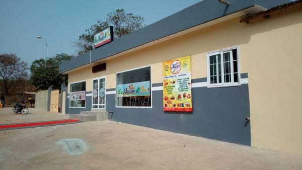 Fast-food à Parakou : le Glacier d'Or