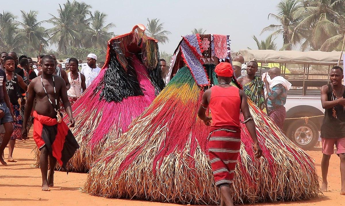 La fête du Vodoun au Bénin