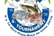 Este sábado inicia el 9° Torneo de Pesca de Orilla Boca de Chila 2016