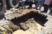 Realiza Seapal obra de reparación en la Colonia Centro