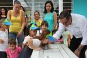 Entrega Abarca Bebederos al Preescolar Luis Medina Casillas