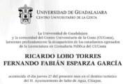 Confirman UDG y Cucosta desaparición de egresados en Chiapas