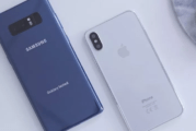 iPhone X vs Galaxy Note 8…. ¿cuál es el mejor smartphone?