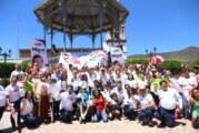 Los municipios de la Sierra van con César Abarca