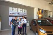 Entregan el automóvil sorteado en Maratón Puerto Vallarta