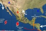 'Bud' ya es huracán categoría 1 y está frente a las costas de Colima y Jalisco