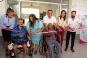 Inauguran enfermería del Centro de Atención para el Adulto Mayor