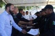 Clausuran curso policial que tomaron elementos de Bahía de Banderas y de Puerto Vallarta
