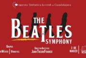 """La Orquesta Sinfónica Juvenil de Guadalajara y el Teatro Vallarta presentan: """"The Beatles Symphony Concert""""."""