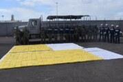 SEMAR asegura una embarcación con más de 600 kilogramos de presunta cocaína, frente a las costas de Sinaloa