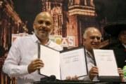 Firman Jalisco y Zacatecas convenio en Tianguis Turístico 2019