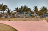 Destruyen letras de Puerto Vallarta en Las Juntas