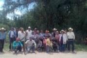 Laguenses realizan faena en la carretera La Troje-Crucero carretera Aguascalientes-Ojuelos