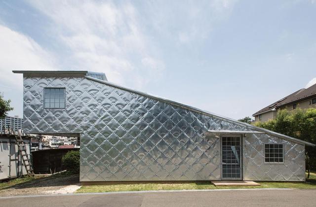 #2 ZINC HOUSE, TERUNOBU FUJIMORI, KOKUBUNJI, TOKYO PREFECTURE