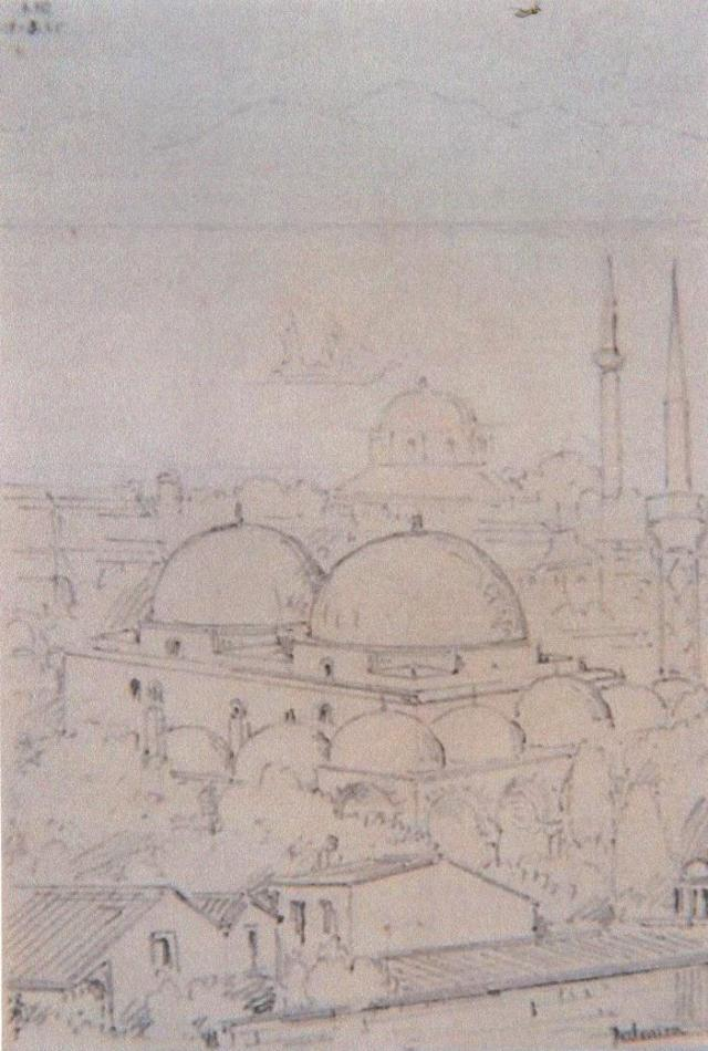 Αλατζά Ιμαρέτ. Σχέδιο του R. Bayne 1864. (Από Αλ. Αθάνατος)