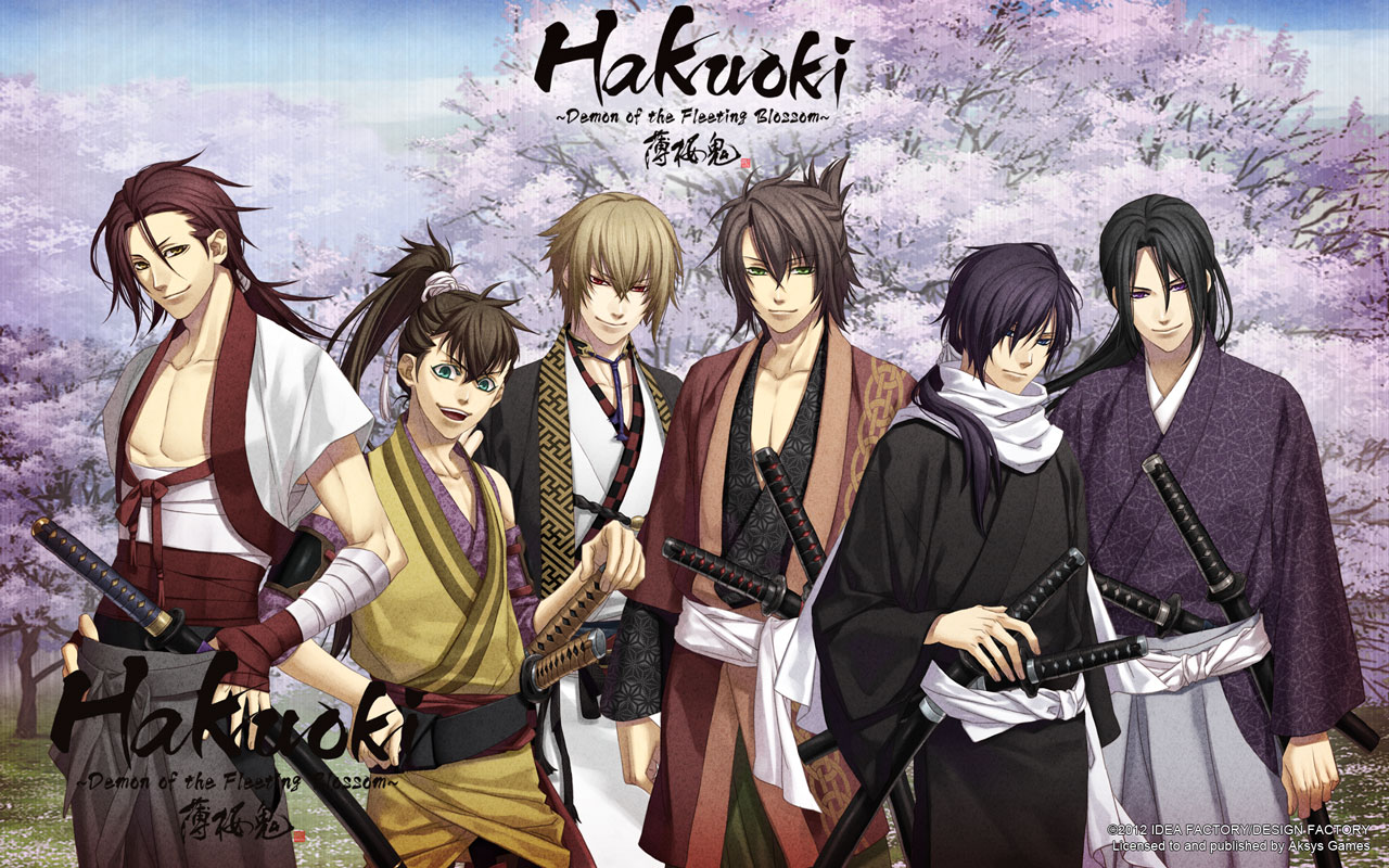 Hakuōki  - meet the boys