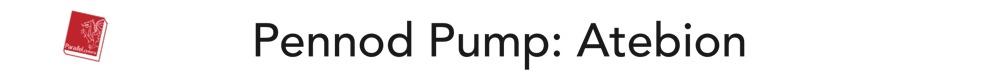 Pennod Pump: Atebion