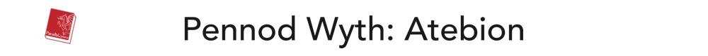 Pennod Wyth: Atebion