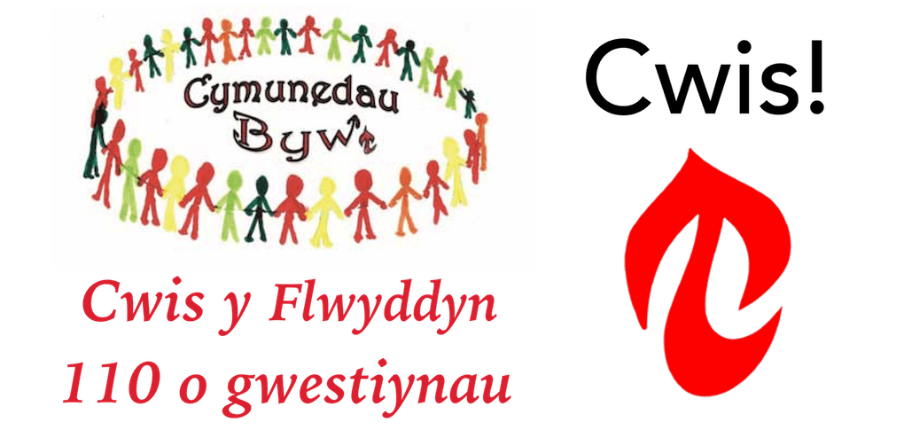 Cwis y Flwyddyn Cymunedau Byw