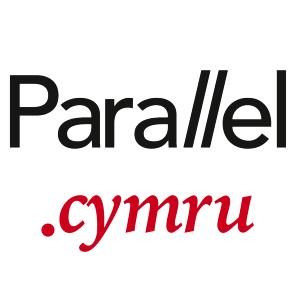 Logo square URL parallel.cymru